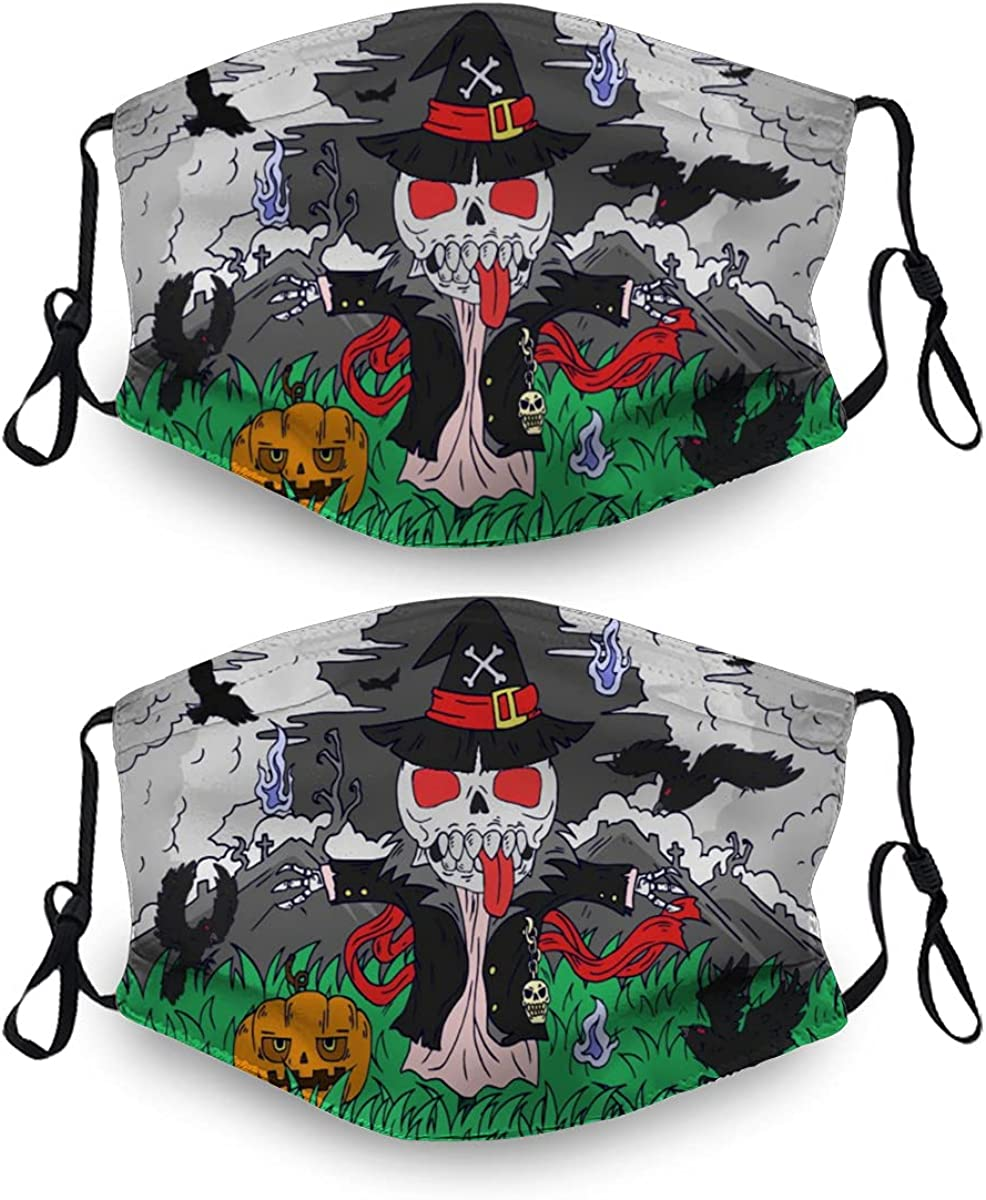 Halloween Ma-Sk Washable Dust Mask Reusable Filter High material Sets with 2 Ranking TOP7 4