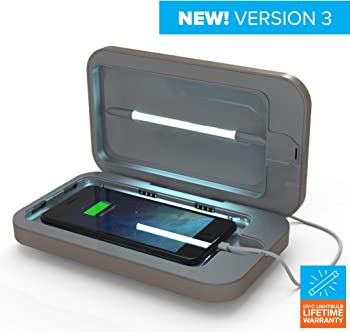 PhoneSoap 3 UV Dual Universal Charger and Cell Phone Sanitizer