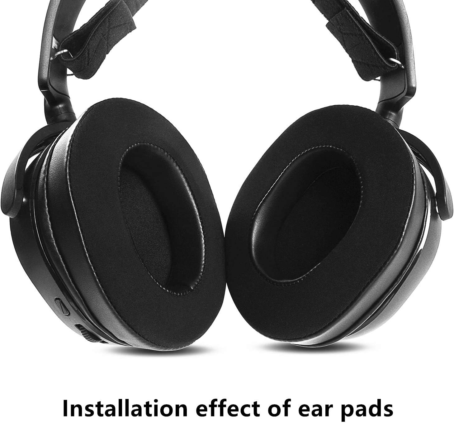 Upgraded Gel-Infused Ear Pads Cushions Cups Replacement Compatible ...