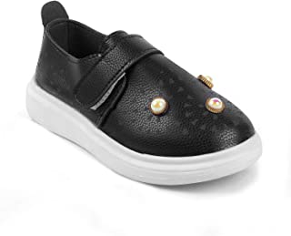 KITTENS Girls Colour Black Shoes for Belly