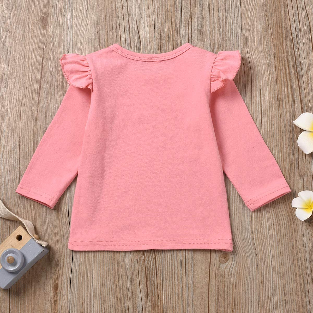 Toddler Girls T-Shirt Promoted to Big Sister Letters Print Kids Short Sleeve Tops
