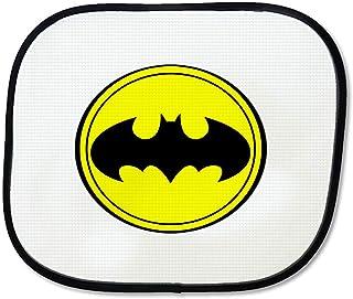 Lihaky Pare-Brise Captain America Pare-Soleil Bloque Les Rayons UV Pare-Soleil Pliable Protecteur de Couverture de Bouclier Universel de Voiture pour Pare-Soleil de Voiture 27,5 x 51 Pouces