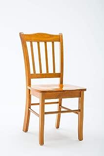 Boraam Shaker Chair, Oak, Set of 2