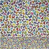 DIE NÄHZWERGE Baumwollstoff Motivkollektion Schmetterlinge