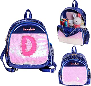 Toddler Backpack - Children Lightweight Outdoor & Trip Bag, Reversible Sequins, Water-Resistant and Lightweight Preschool Backpack for Boy Girl