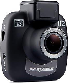 Nextbase 112 – 720p HD Dashcam Überwachungskamera & Auto Kamera mit DVR Aufnahme Funktion – 120 ° Betrachtungswinkel (Schwarz)