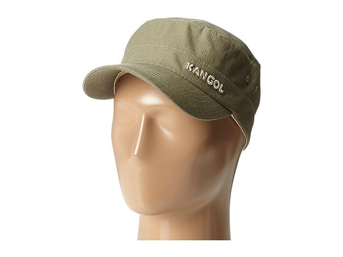Denim Army Cap