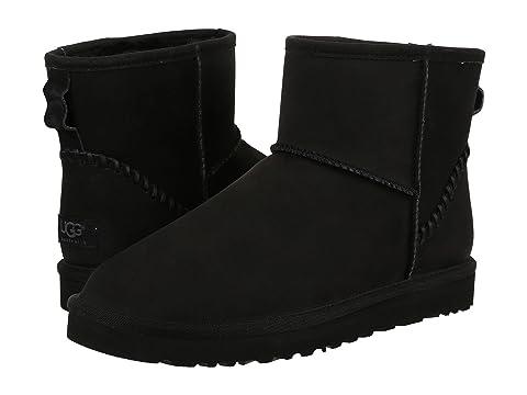 ugg classic mini boots black