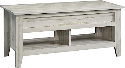 Sauder Dakota Pass Lift-top Coffee Table, White Plank finish