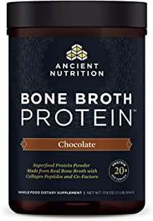 Sponsored Ad - Bone Broth Protein Powder, Chocolate, Food-Sourced Hydrolyzed Collagen Supplement, Formulated by Dr. Josh A...