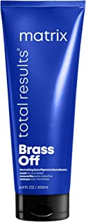 MATRIX Total Results Brass Off Color Depositing Custom Neutralization Hair Mask | Repairs & Protects Fragile Hair | For Co...
