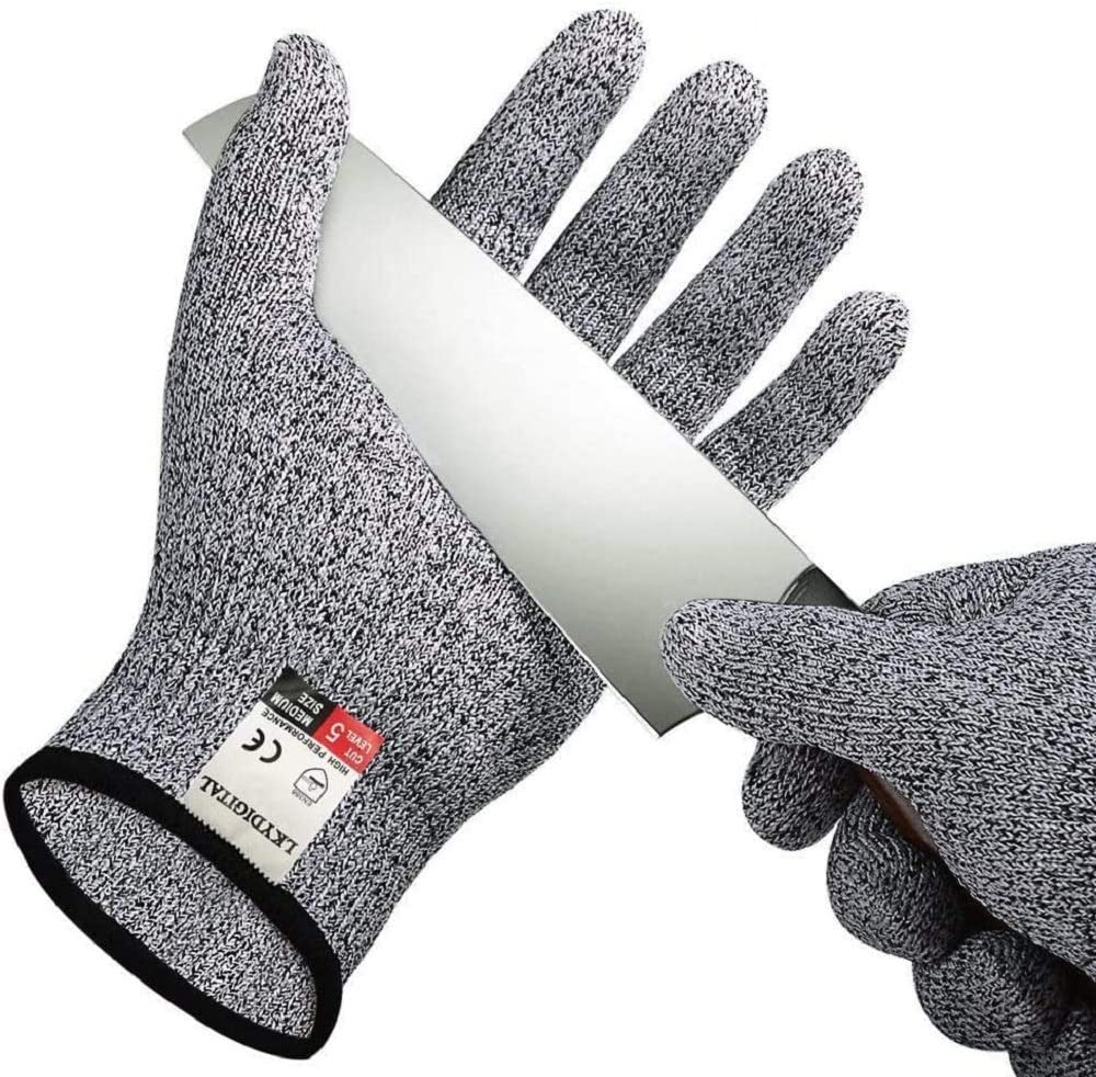 Anti-cutting Gloves Max 76% OFF Food Grade Fashion Level 5 Protection Kitchen Glove