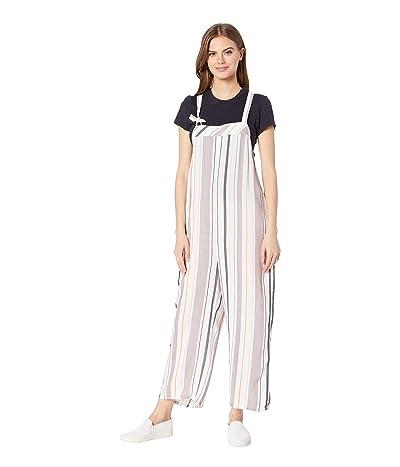 Tavik Lanz Jumpsuit (White/Berry Stripe) Women