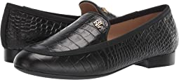 Black/Black Soft Mini Croc/Grosgrain