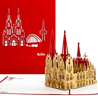 """Kölner Dom"" - Original 3D Pop Up Karte von"