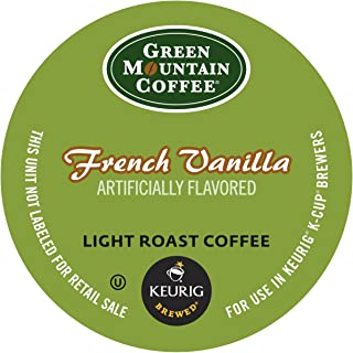 Green Mountain Coffee French Vanilla, K-Cup Portion Pack for Keurig K-Cup Brewers (Pack of 48)