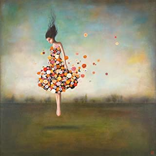 Easy Art Prints Duy Huynh's 'Boundlessness in Bloom' Premium Canvas Art - 16