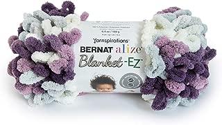Bernat 16103737021 Alize Blanket-EZ Yarn, Thistle
