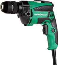 Metabo HPT Drill, Corded, 7-Amp, 3/8-Inch, Metal Keyless Chuck, Variable Speed w/ Dial,..