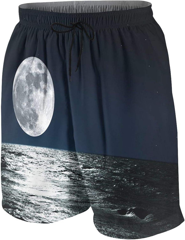 Padoni Men Swim High quality Trunks Drawstring Dry Waist Elastic Quick Beach half