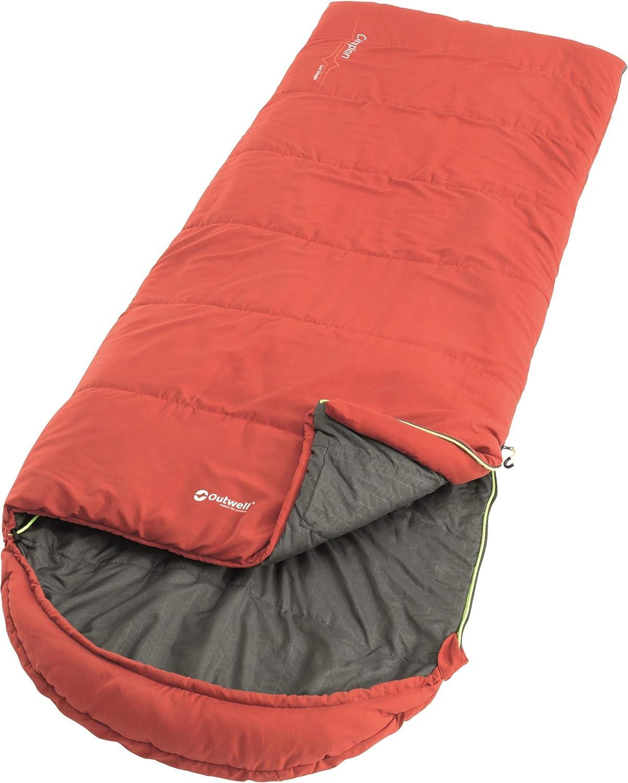 Outwell Campion Lux Sleeping Bag rot Ausführung Right Zipper 2019 2019 2019 Schlafsack B07PTXQ6WG  Britisches Temperament 0ac43d