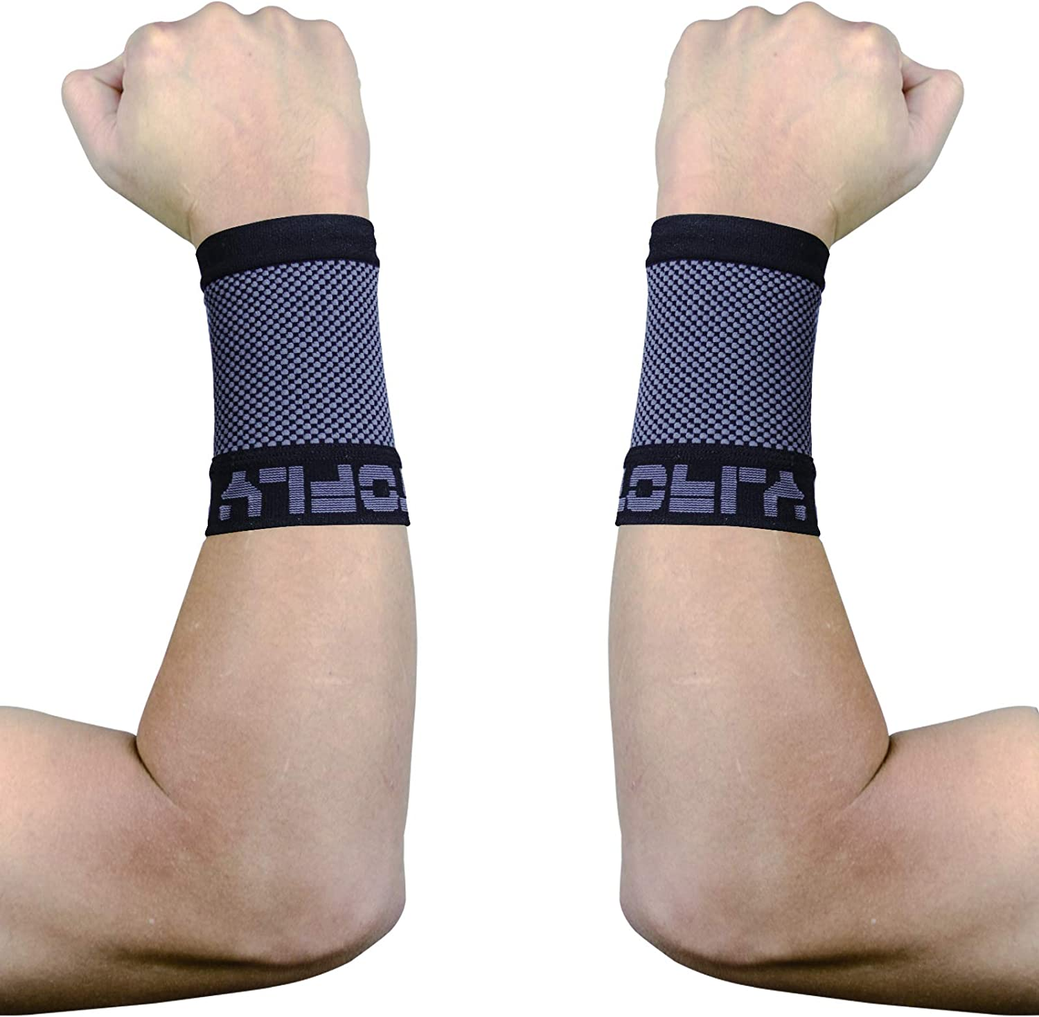 Super sale period limited TOFLY Compression Wrist Brace 2021 autumn and winter new 20-30mmHg Pair Sleeves Unisex