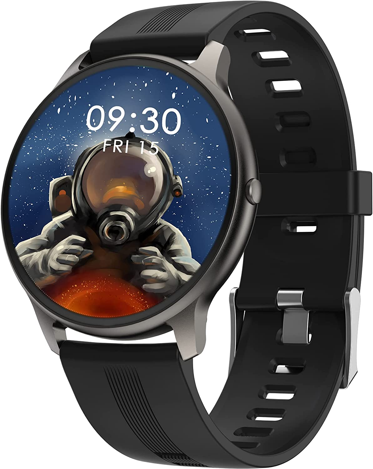 Smart Watch IP68 Waterproof Full Touch Color Screen Fitness Trac