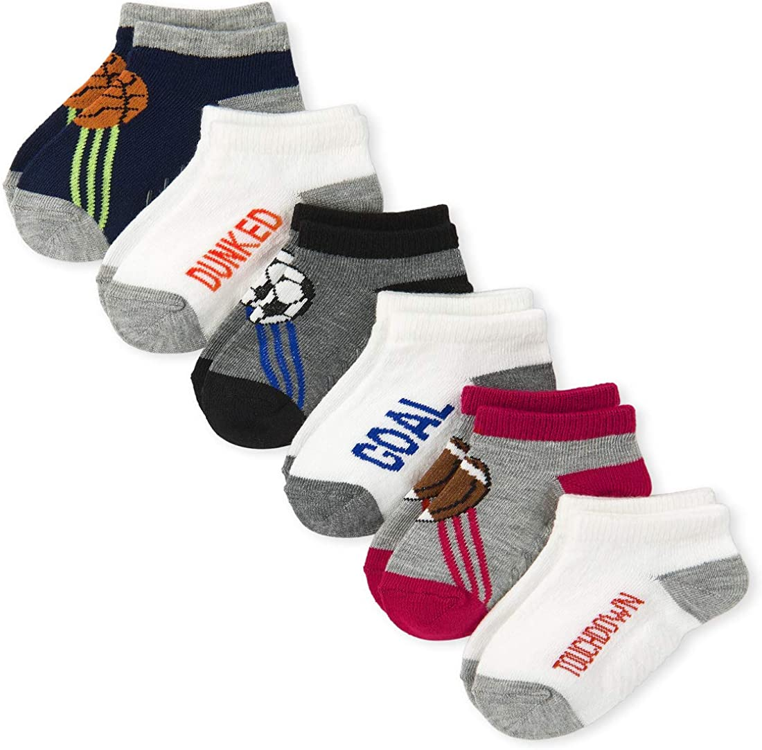 The Children's Place baby-boys Sales Sport of Pack Six Great interest Socks