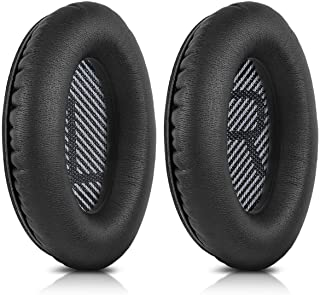 TERSELY Replacement Ear Cushions for Bose Quiet Comfort 35 (QC35), QuietComfort 35 II (QC35 II) Headphones, Complete with ...
