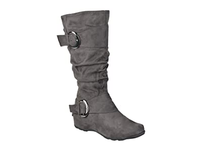 Journee Collection Jester-01 Boot Wide Calf (Grey) Women