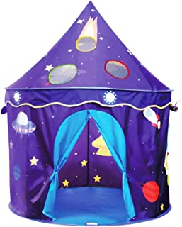 Eggsnow Play Tent for Kids,Pop Up Kids Tent Toddler Tent for Boys and Girls Castle Tent for Indoor Outdoor