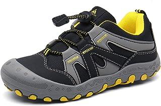 أحذية Mishansha للأولاد والبنات المشي لمسافات طويلة شبكة متماسكة منخفضة أعلى أحذية رياضية في الهواء الطلق الرحلات المشي تس...