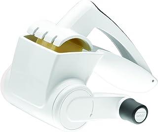 Zyliss E900020UWS Rallador Queso, Plástico/Acero, Blanco,