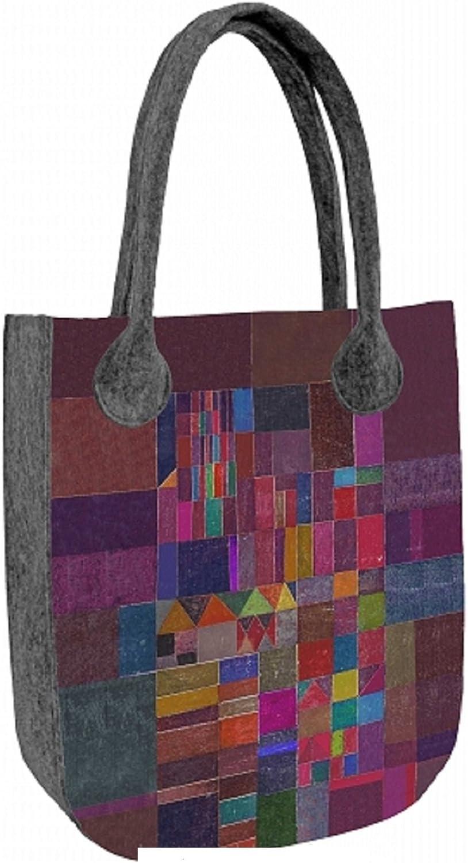 Filztasche Shopper Damentasche Handtasche Schultertasche CITY CITY CITY  Mosaic  B00S42TRIM  Offizielle Webseite 1c5291