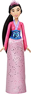 Disney Princess Royal Shimmer Mulan Doll, Fashion Doll with Skirt and Accessories, Toy for Kids Ages 3 and Up