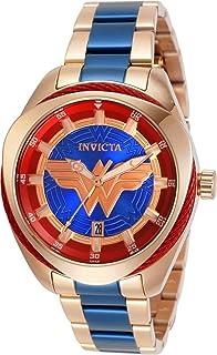 Invicta 31729 Rose Gold DC Comics Wonder Woman Ladies Watch
