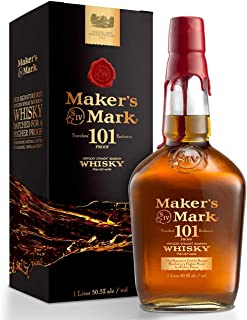 Makers Mark 101 Proof Kentucky Straight Bourbon Whisky 1L