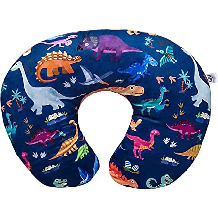 Machine Washable 100/% Cotton Baby Nursing Pillows Dinosaur Usning Nursing Pillows and Infant Support Pillow Head Positioner Breast Feeding Pillows for Baby