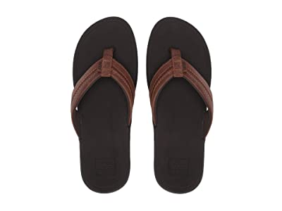Reef Leather Ortho-Bounce Coast (Brown) Men