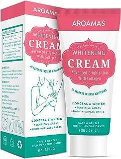 Underarm Whitening Cream, Lightening Cream Effective for Armpit, Knees, Elbows, Sensitive & Private Areas, Whitens, Nourishes, Repairs & Restores Skin