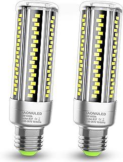 E27 LED maíz bombilla 20W 2500LM 6000K Bombillas Led E27 Blanco Frio Equivalentes Incandescente Bombillas 120W, Edison tornillo Candelabros bombillas Led Maíz Mazorca Luz lampara, pack de 2