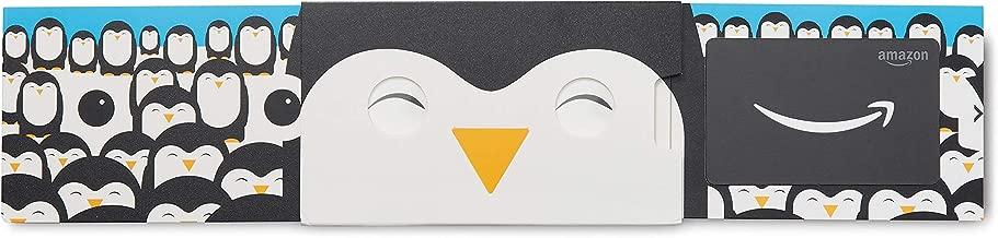 Amazon.com Gift Card in a Happy Penguin Slider