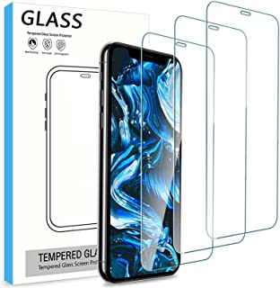 Cnarery Screen Protector for iPhone 11 and iPhone XR (6.1 inch), [3 Pack] Tempered Glass Screen Protector[Case Friendly] [...