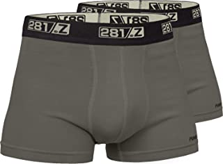 281Z Military Underwear Cotton 2-Inch Boxer Briefs - Tactical Hiking Outdoor - Punisher Combat Line