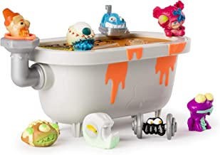 FLUSH FORCE, Series 2, 8 Pack Bizarre Bathtub with Gross Collectible Figures (Color/Styles May Vary)
