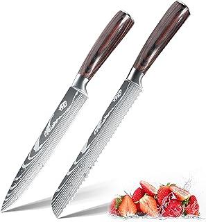 Couteau de chef professionnel ZENG Couteau universel Couteau de cuisine, couteau de chef tranchant en acier inoxydable all...