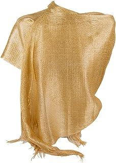 STOLA BLU Foulard CERIMONIA donna elegante coprispalle abito vestito da sera