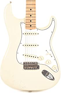 Fender Custom Shop Teambuilt Limited Edition Jimi Hendrix Stratocaster Olympic White Relic