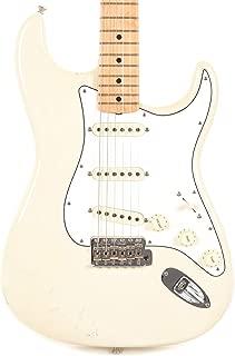 Fender Custom Shop Teambuilt Limited Edition Jimi Hendrix Stratocaster Olympic White Relic
