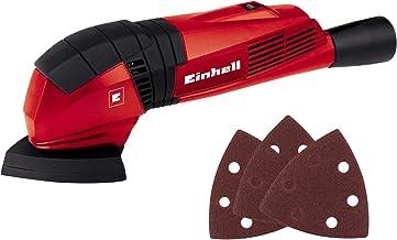 Einhell Delta Schuurmachine TC-DS 19 (190W, 20000 1/min oscillatiesnelheid, ergonomische softgrip, Extreme Fix, stofafzuig...